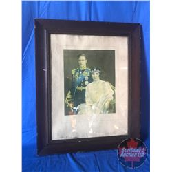 "Picture of King George VI and Queen Elizabeth Coronation Year 1937 (29""H x 24""W)"