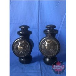 Pair of Carriage Lanterns