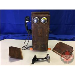Wood Box Telephone