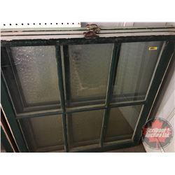 "Wood Sash Windows (Group of 3) (36"" x 35"")"