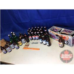 Variety of Vintage Beer Bottles (Stubby & Long Neck) (Note: Some still full)
