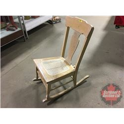 Rocking Chair (Rattan Seat)