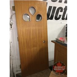 "Solid Core Wood Door (33-3/4"" x 79-1/4"")"