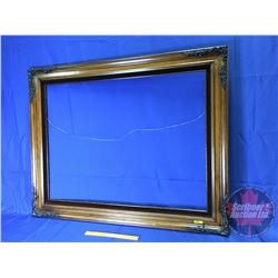 "Large Wood Picture Frame (38-1/2"" x 48-1/2"")"