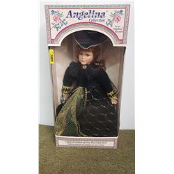 "Porcelain Doll in Box - Limited Edition ""Angelina Collection"" by Angelina Visconti (Box 20""H)"