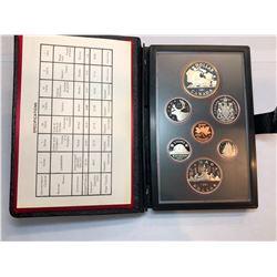 1981/1986 Royal Canadian Mint Double Dollar Sets