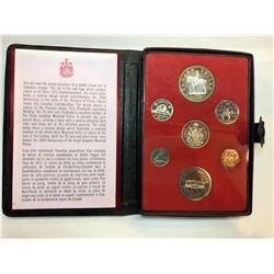 1971/1973 Royal Canadian Mint Specimen Double Dollar Sets