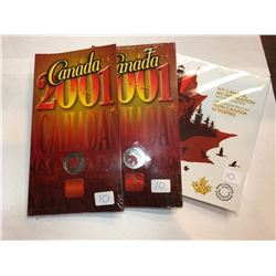 2001/2017 Royal Canadian Mint Coins