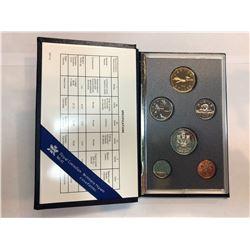 1989/1990/1993 Royal Canadian Mint Specimen Sets