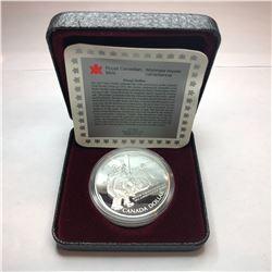 1972 Canadian Hockey Dollars                                    1903 Canadian Silver Fox Dollar