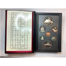 1987 Royal Canadian Mint Double Dollar Sets