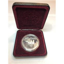 1969/1978/1992 Royal Canadian Mint Sterling Silver Dollar Coins