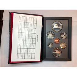 1986 Royal Canadian Mint Proof Double Dollar Set