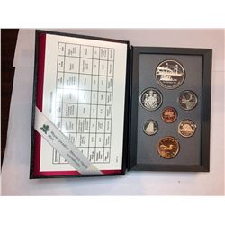 1991 Royal Canadian Mint Proof Double Dollar Set