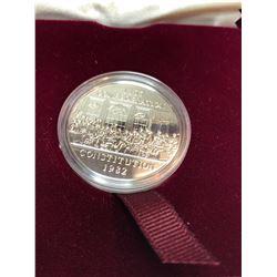 1982 Canada Constitution Commemorative Dollar in Proof-Like Finish