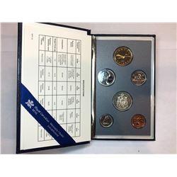 1991 Royal Canadian Mint Specimen Set