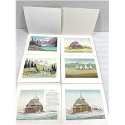 6 George Weber Prints