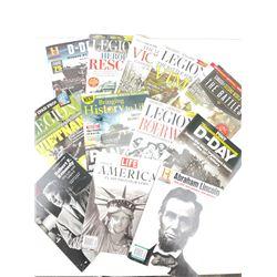 History Magazine Lot