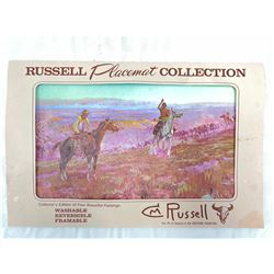 Charles M. Russel Placemat Collection
