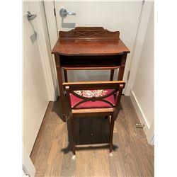 Telephone Table & Chair