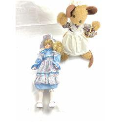 Doll and Stuffed Animal