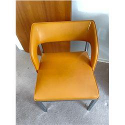 2 Orange Chairs