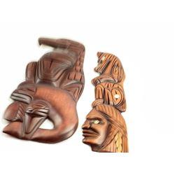 2 Wood Carvings