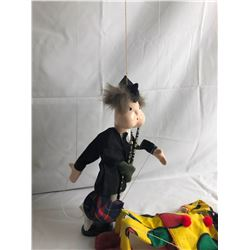 3 Marionette Puppets