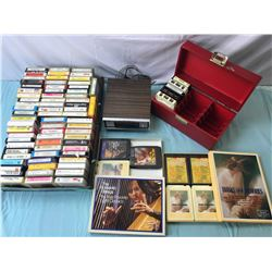 8 Track Stereo and 8 tracks