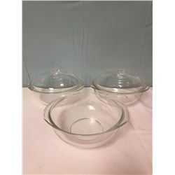 4 Pyrex Casserole Dishes