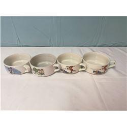 4 soup mugs