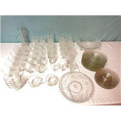 68 Piece Glassware Set