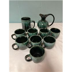 Blue Mountain Pottery Set