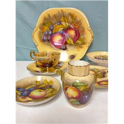 Gold Aynsley China Cup and Saucer Set