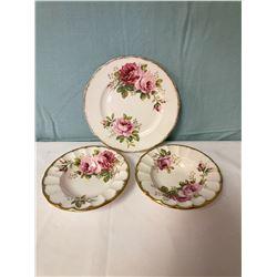 Royal Albert American Beauty Plates