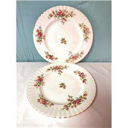 Royal Albert Moss Rose Plates