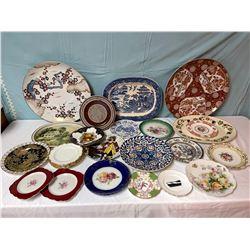 28 Piece Plate Lot