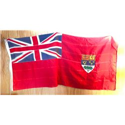 The Canadian Red Ensign fabric Flag