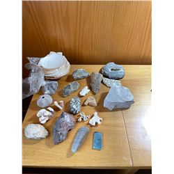 Minerals of Canada and Rocks Lot