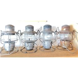 Railway Lanterns Lot