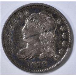 1832 BUST HALF DIME XF/AU