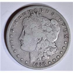 1888-S MORGAN DOLLAR FINE