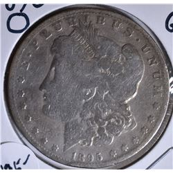 1895-O MORGAN DOLLAR GOOD