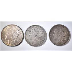 2-1921 & 1-21-D CIRC MORGAN DOLLARS