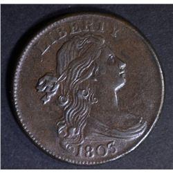1803 LARGE CENT  CH AU