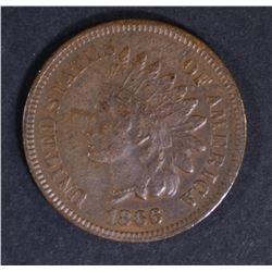1866 INDIAN CENT  AU