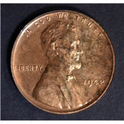 1942 LINCOLN CENT  CH PROOF RD
