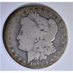 1879-CC MORGAN DOLLAR  GOOD