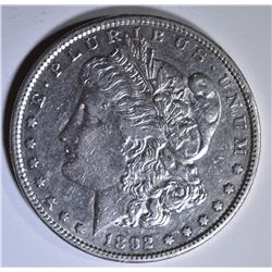1892-S MORGAN DOLLAR  AU