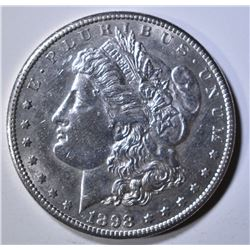 1898-S MORGAN DOLLAR  AU/BU